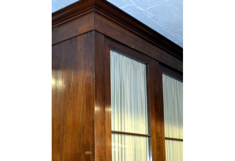 bibliotheque en bois brocante d 39 epinay. Black Bedroom Furniture Sets. Home Design Ideas