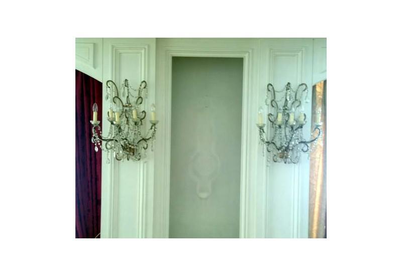 kronleuchter wand glas pendelleuchte modern. Black Bedroom Furniture Sets. Home Design Ideas
