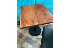 table bistrot en bois