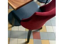 chaise skai et tissus