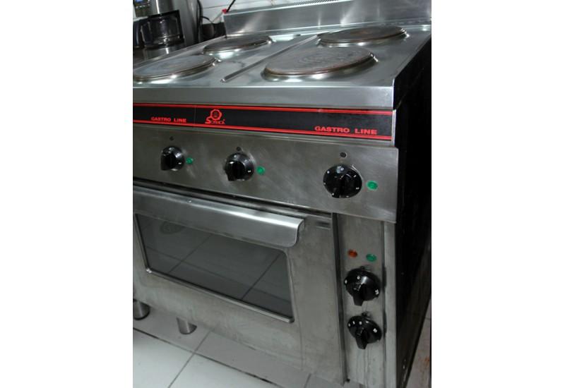 Brocante d 39 pinay vous propose des cuisini res professionnelles pour rest - Piano cuisine electrique ...