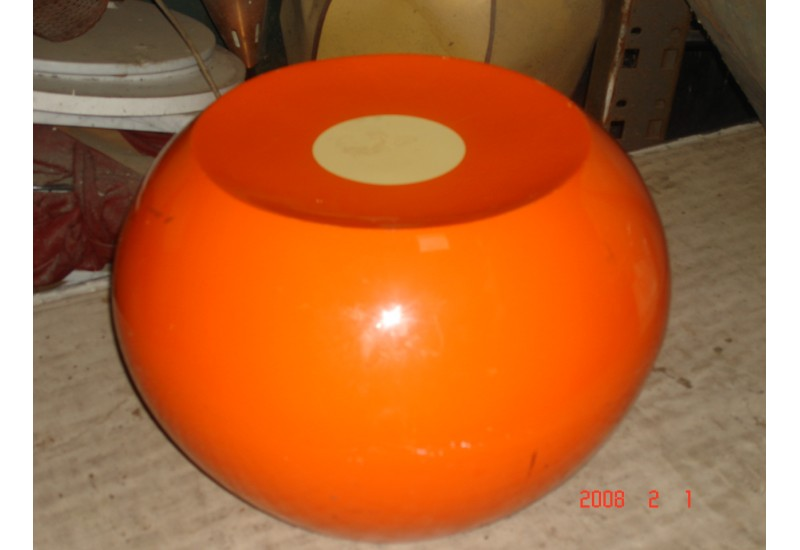 Pouf orange - Achat Vente Pouf orange pas cher - m