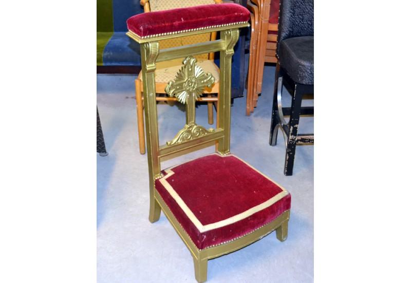 chaise prie dieu chez bravo toutes le mobilier religieux. Black Bedroom Furniture Sets. Home Design Ideas